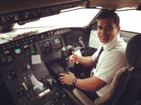 Photo Credit: First Officer Miten Patel