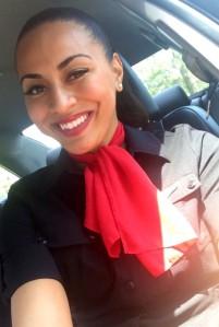 GoJet Flight Attendant Juannette Roache